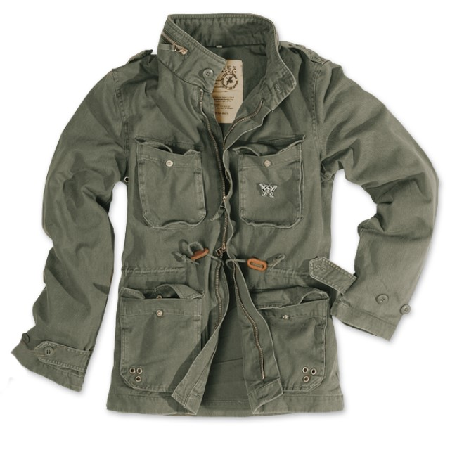 limited army style m65 damen jacke oliv washed s 36 ebay. Black Bedroom Furniture Sets. Home Design Ideas